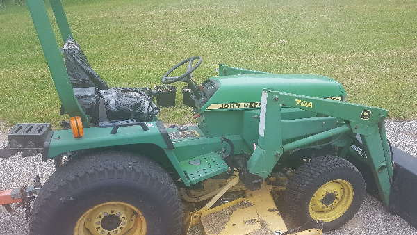 John Deere Price - 1998 955 value