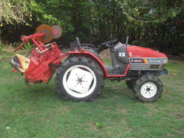 Yanmar Tractors: Yanmar-F200-tractor-manual