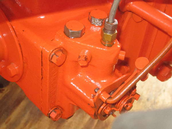 Antique Tractor -- Allis Chalmers: Allis-Chalmers-Type-B-1940-AC-Hydraulic-Pump-failure