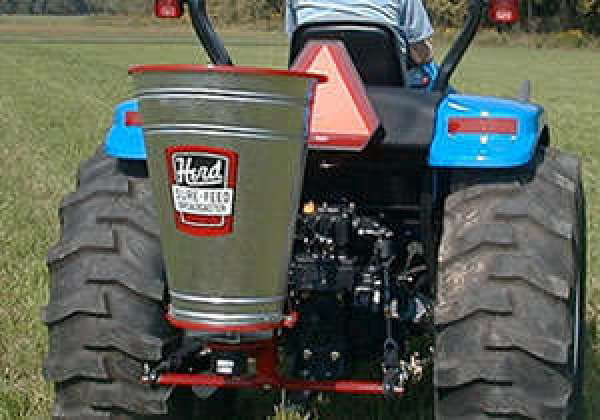All Terrain Vehicles: Seed-and-Fertilizer-Spreader-for-ATV