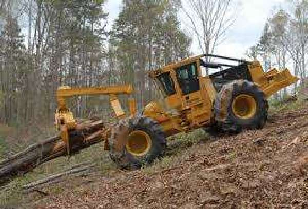 Tractor Implements: Tractor-Forestry-Skidding-Winches