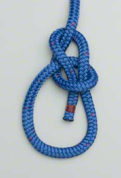 Tools - Techniques Howto: Knot-Tying-and-Uses-bowline-knot