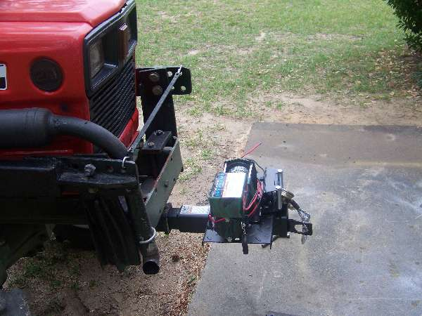 Yanmar Tractors: Winch-question--Yanmar-165d-