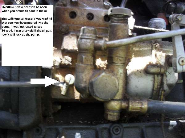 Tractor Hydraulic Pump Location On : Fuel pump nortrac tractors page