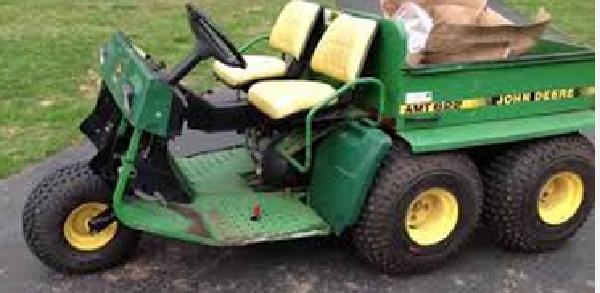 John Deere Gator: John-Deere-AMT626-stops-moving-hot