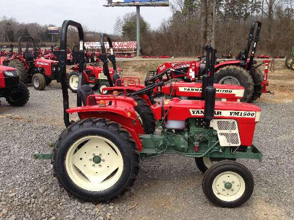 Yanmar Tractors: Yanmar-1500-Diesel-Tractor