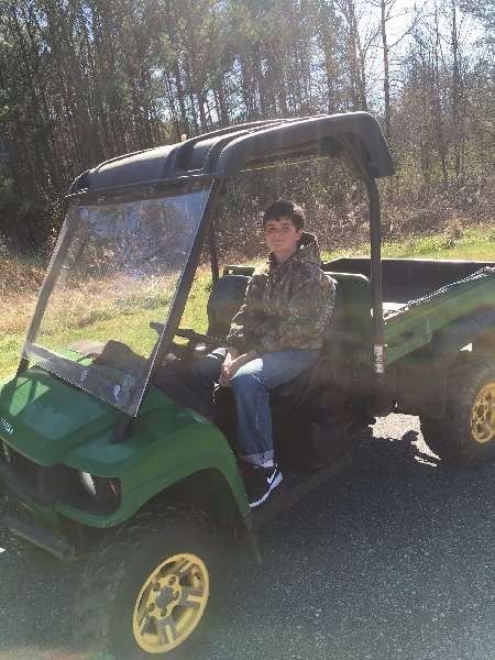 John Deere Gator - gator smokes sometimes under power