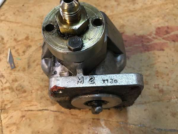 Hinomoto: C174-Hydraulic-Pump-Needed