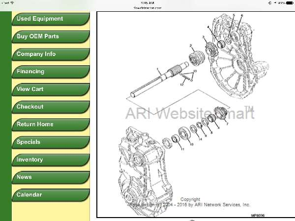 John Deere Gator: Input-shaft-spline-or-keyed