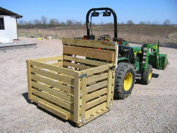 Tractor Carry All Box : Firewood fetchin box mytractorforum the
