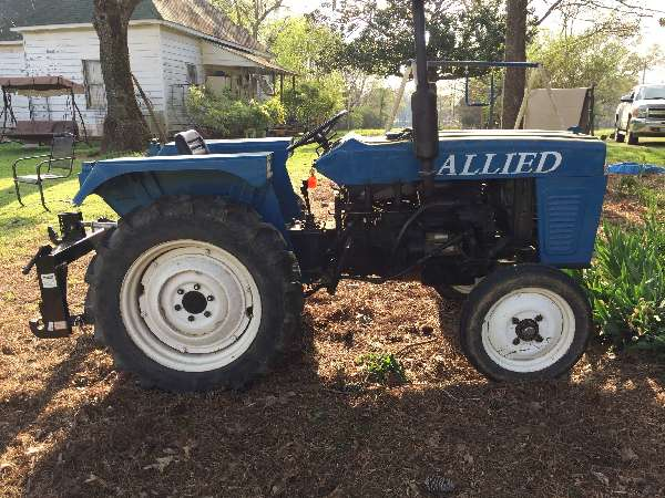 Allied tractor