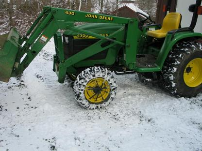 Tractor Tires: Tire-Chains