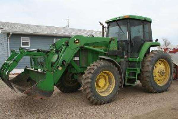 John Deere 740 Tractor : John deere jd mfd loader new pix by