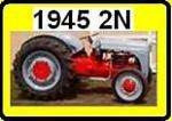Antique Tractor -- Ford 9N 2N 8N: 9N2N-Colors