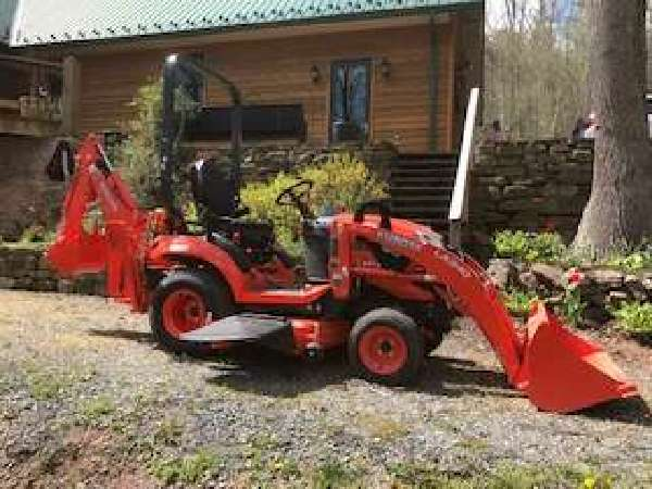 My Sub Compact Kubota BX23S Tractor with loader and backhoe