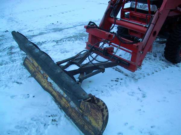 Front Mount Tractor Snow Plow : Kubota b front blade options review page
