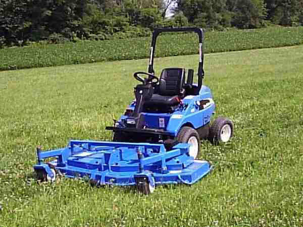04 New Holland Mc30 front mount commercial mower 84 inch deck