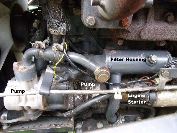 Tractor Hydraulic Pump Location On : Shibaura sd t hydraulic filter location