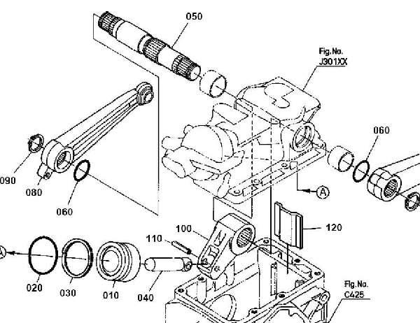 B7610 Kubota Hydraulic Lift Arm : Kubota generic hydraulic lift drawing new pix by willieh
