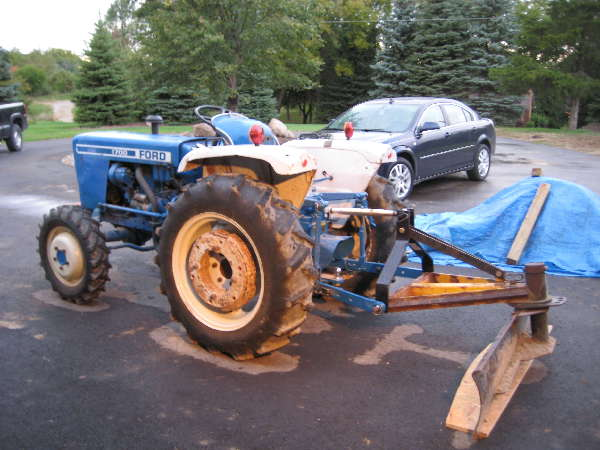 This is the first tractor that I have owned.  I would like to get a front loader for it.