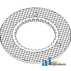 A-70261212 PLATE ASSEMBLY CLUTCH ,Allis-Chalmers TRACTOR D15,Allis-Chalmers  TRACTOR D17,Allis-Chalmers TRACTOR D19,Allis-Chalmers TRACTOR