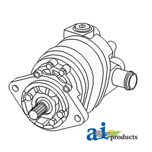 A-70269937 HYDRAULIC PUMP (SINGLE)