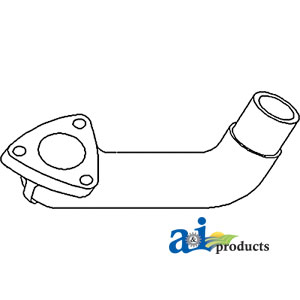 A-72091261 ELBOW EXHAUST