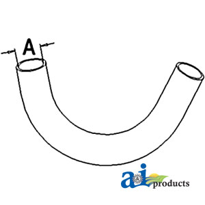 A-72098630 RADIATOR HOSE LOWER