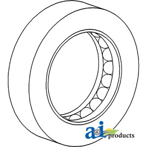 A-72099508 BEARING THRUST SPINDLE