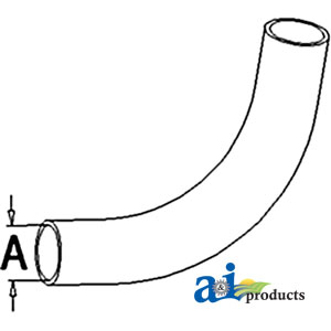 A-72100735 RADIATOR HOSE UPPER