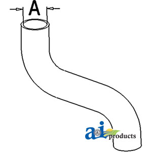 A-72102678 RADIATOR HOSE UPPER