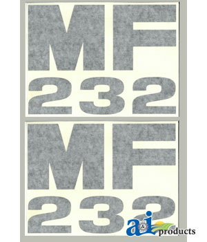 A-MF232 DECAL SET