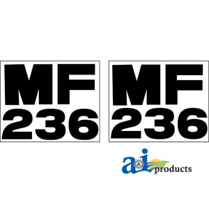 A-MF236 DECAL SET