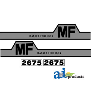 A-MF2675 DECAL SET