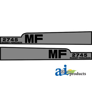 A-MF2745 DECAL SET HOOD