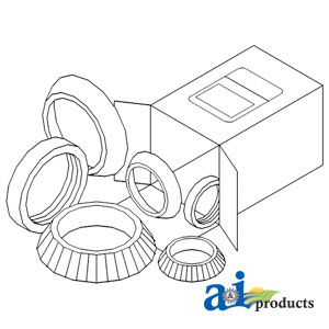 A-WBKMF2 WHEEL BEARING KIT